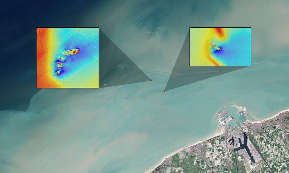 NASA Landsat 8 satellite imagery